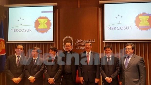 Le Centre d'etude sur le Mercosur et l'ASEAN voit le jour hinh anh 1
