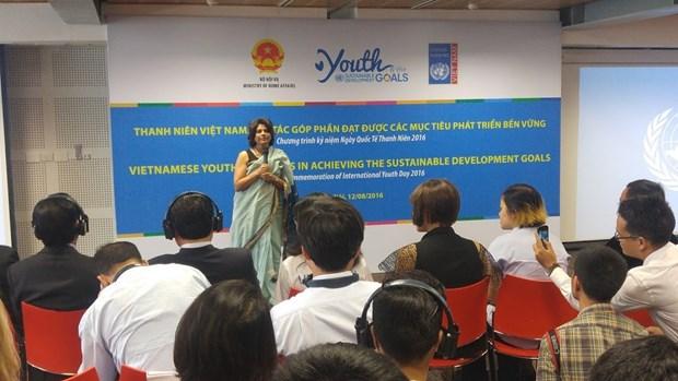 La jeunesse vietnamienne tient la cle de la reussite de la realisation des OMD hinh anh 1