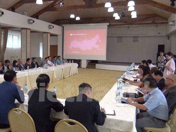 Les entreprises vietnamiennes en Russie contribuent aux liens economiques hinh anh 1