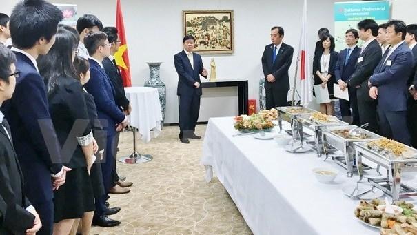 Des emplois pour les etudiants vietnamiens au Japon hinh anh 2