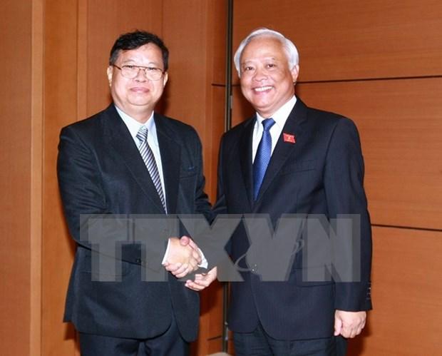 Vietnam-Laos : promotion des relations de cooperation parlementaire hinh anh 1