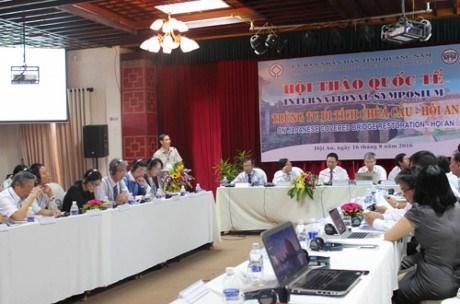 Seminaire international sur la restauration de Chua Cau a Hoi An hinh anh 1