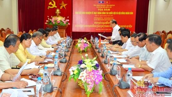 Nghe An et Xieng Khuang ne cessent de cultiver leur solidarite hinh anh 1