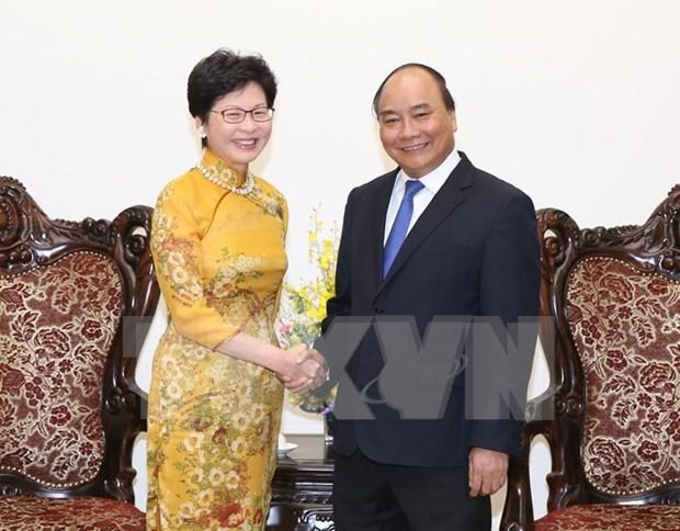 Le Vietnam souhaite voir Hong Kong etablir des liens avec ses localites hinh anh 1