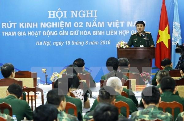 Le Vietnam participe activement a des operations de maintien de la paix de l'ONU hinh anh 1