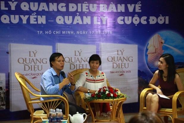 Publication d'une œuvre sur l'ex-Premier ministre singapourien Lee Kuan Yew hinh anh 1