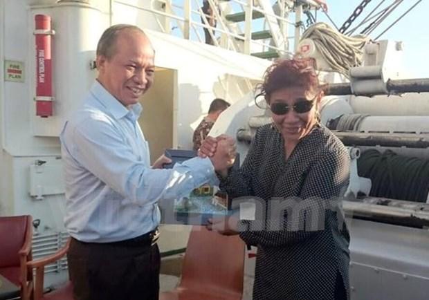 Vietnam et Indonesie renforcent leur cooperation dans la peche hinh anh 1