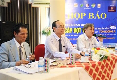 """Prochain tournoi international de tennis de table """"Raquette d'or"""" a Ho Chi Minh-Ville hinh anh 1"""