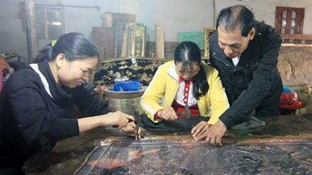Village d'orfevrerie de Dong Xam hinh anh 2