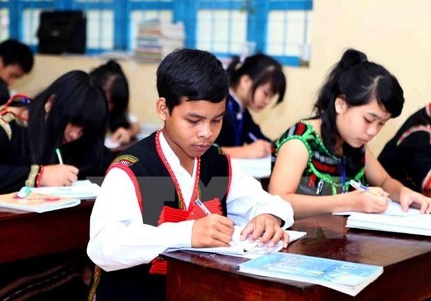 Developpement des infrastructures scolaires sur les Hauts Plateaux du Centre hinh anh 1