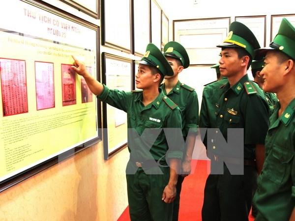 Exposition sur Hoang Sa et Truong Sa a An Giang hinh anh 1