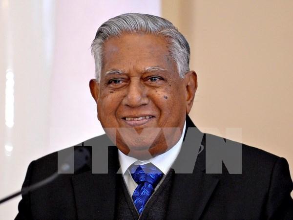 Deces de l'ex-president S.R. Nathan : condoleances a Singapour hinh anh 1