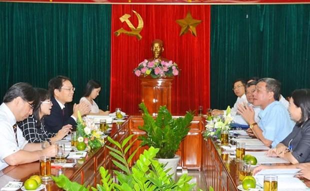 Dong Nai exhortee a accelerer la liberation du foncier pour les projets finances par la JICA hinh anh 1