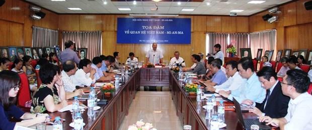 Colloque sur les relations Vietnam-Myanmar hinh anh 1