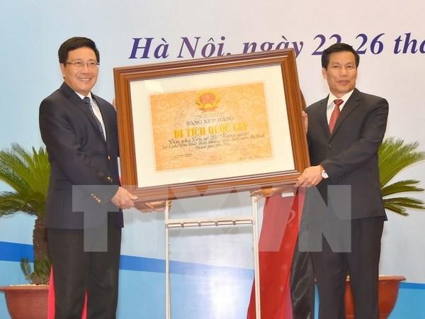 Le siege du ministere des Affaires etrangeres inscrit au patrimoine national hinh anh 1