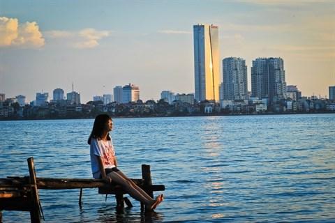 Plaisir sur l'eau de vieux Hanoien hinh anh 1