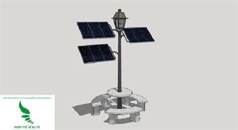 Ho Chi Minh-Ville: Des arbres solaires aux abords de la rue pietonne Nguyen Hue hinh anh 1