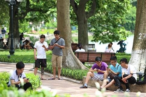 Hanoi installe le wifi gratuit autour du lac Hoan Kiem hinh anh 1