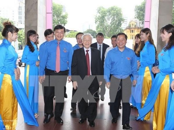 Le Parti et l'Etat vietnamiens confiants en la jeune generation hinh anh 1