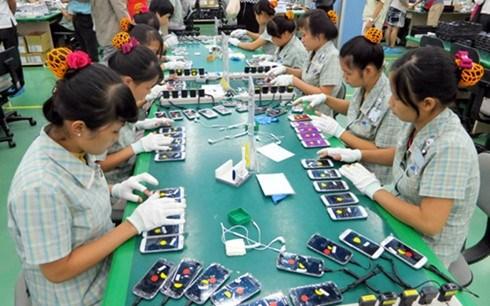 Les exportations nationales de telephones mobiles s'elevent a 22 milliards de dollars hinh anh 1
