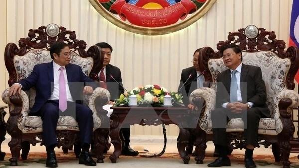 Une delegation de la Commission centrale de l'Organisation du PCV en visite au Laos hinh anh 1
