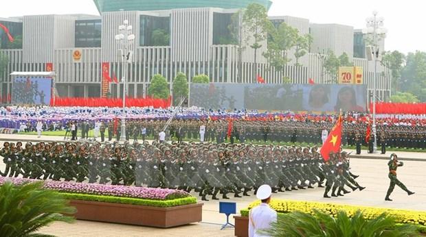 Felicitations du Laos pour la Fete nationale hinh anh 1