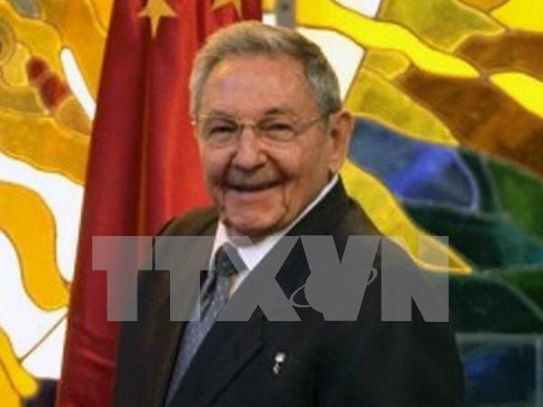 Le president cubain felicite le Vietnam pour sa Fete nationale hinh anh 1