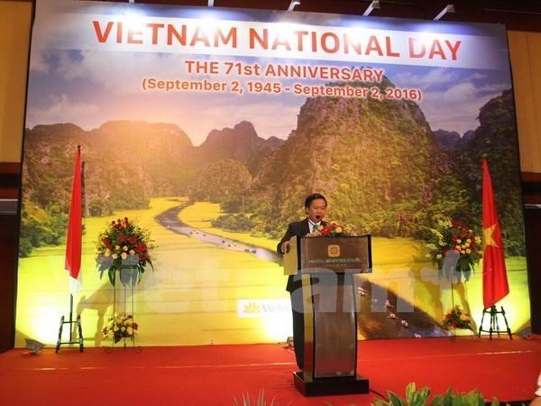 La Fete nationale du Vietnam celebree dans de nombreux pays hinh anh 1