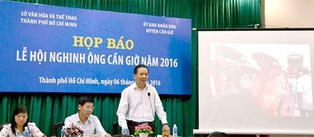 Can Gio : diverses activites nouvelles de la fete Nghinh Ong 2016 hinh anh 1