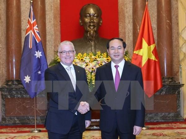 Tran Dai Quang recoit de nouveaux ambassadeurs hinh anh 1