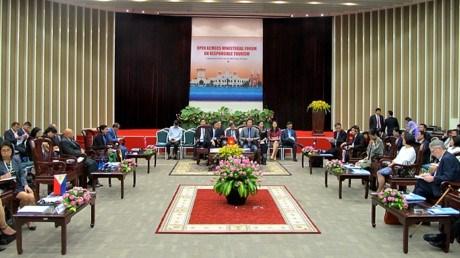 Forum ministeriel elargi sur le tourisme de l'ACMECS hinh anh 1