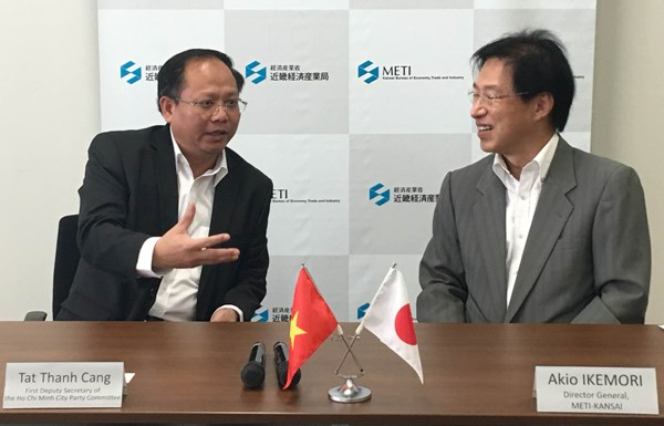 Ho Chi Minh-Ville et Kansai (Japon) cooperent dans l'industrie auxiliaire hinh anh 1