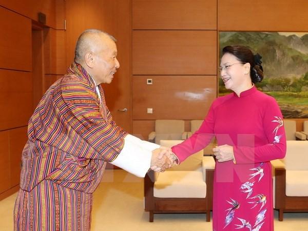 Vietnam-Bhoutan : les organes legislatifs scellent une cooperation hinh anh 1