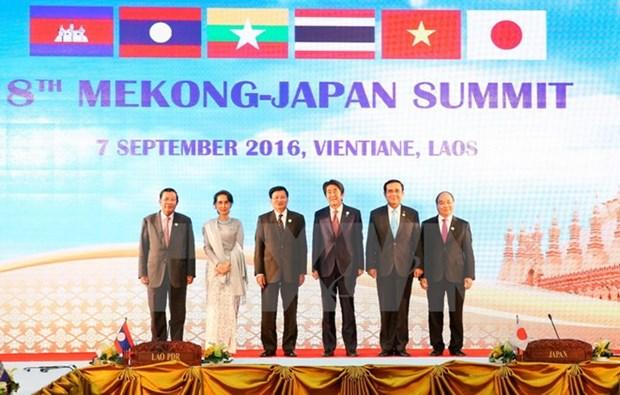Le Premier ministre Nguyen Xuan Phuc au 8e sommet Mekong-Japon hinh anh 1
