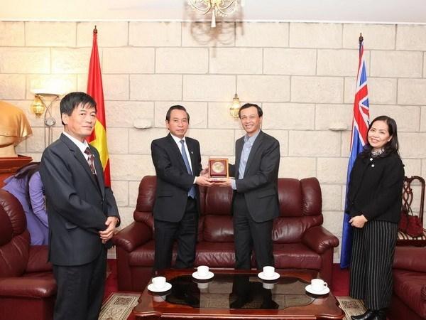 Le president du Front de la Patrie du Vietnam pour Hanoi en visite en Australie hinh anh 1