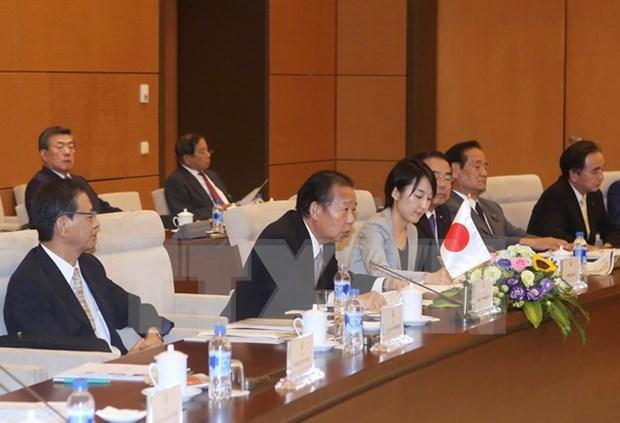 Vietnam et Japon dynamisent leur cooperation dans divers domaines hinh anh 1