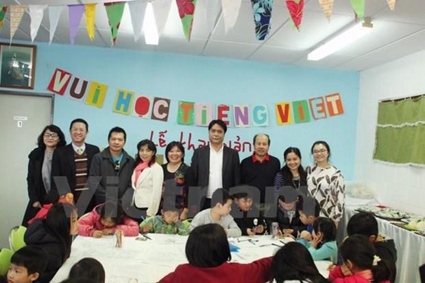 Inauguration de la 2e classe de vietnamien en Nouvelle-Zelande hinh anh 1