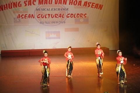 ASEAN : des chants et des danses presentes a Hanoi hinh anh 3