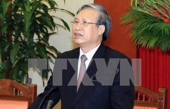 Vietnam et Chine partagent des experiences en matiere de controle et d'edification du Parti hinh anh 1
