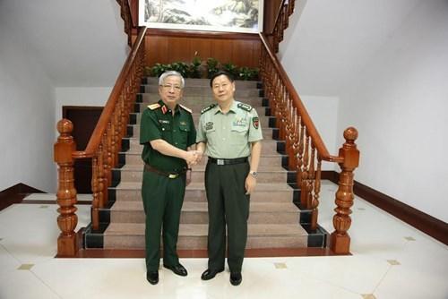 Promotion des echanges entre les forces de defense frontaliere Vietnam-Chine hinh anh 1