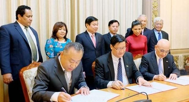 Sante: lancement d'un projet americain de 500 millions de dollars a Ho Chi Minh-Ville hinh anh 1