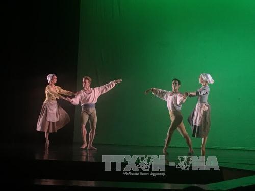 Spectacle de ballet a l'occasion des 20 ans de cooperation entre Hanoi et Toulouse hinh anh 1