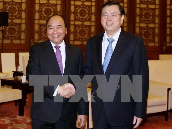 Activites du Premier ministre Nguyen Xuan Phuc a Pekin hinh anh 1
