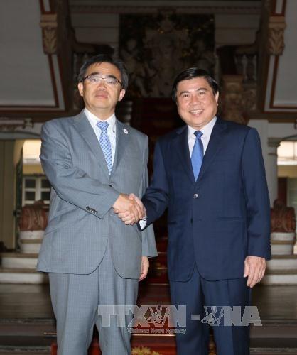 Ho Chi Minh-Ville et la prefecture japonaise d'Aichi renforcent leurs relations hinh anh 1