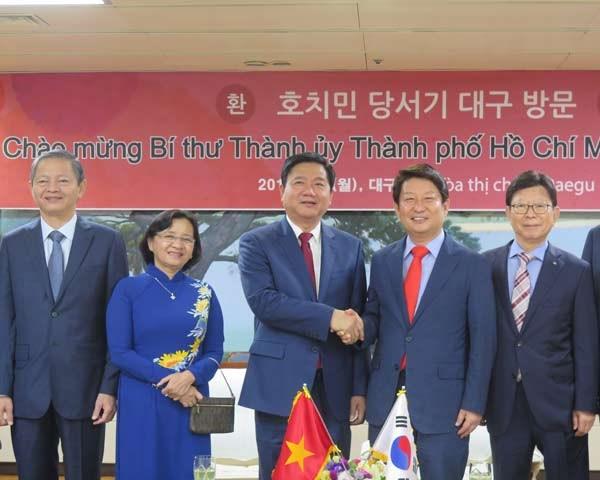 Les entreprises sud-coreennes invites a participer aux programmes de pointe de HCM-Ville hinh anh 2