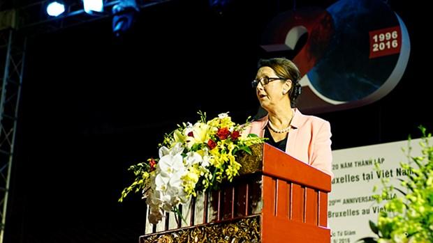 Celebration du 20e anniversaire de la delegation Wallonie-Bruxelles au Vietnam hinh anh 2