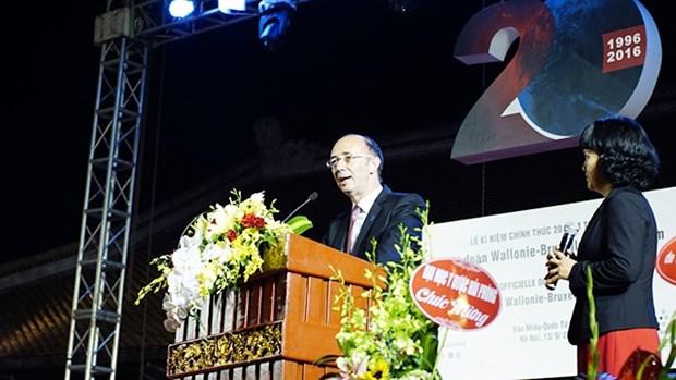 Celebration du 20e anniversaire de la delegation Wallonie-Bruxelles au Vietnam hinh anh 1