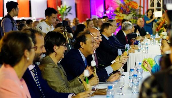 Celebration du 20e anniversaire de la delegation Wallonie-Bruxelles au Vietnam hinh anh 3