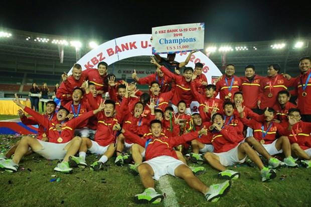 Championnat U19 d'Asie du Sud-Est : le Vietnam domine aisement le Timor-Leste hinh anh 1