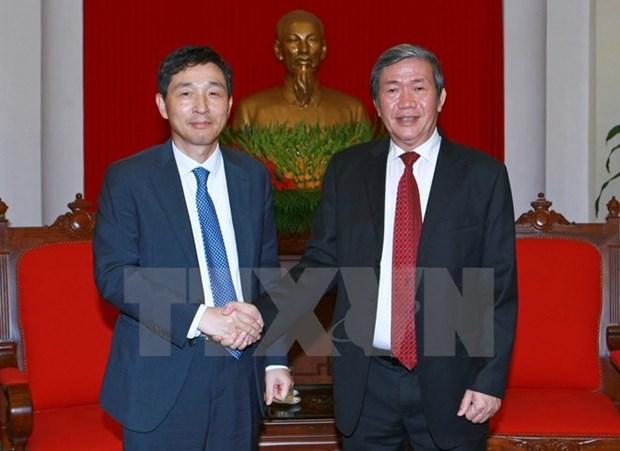 Vietnam et R.de Coree promeuvent leur cooperation economique et commerciale hinh anh 1
